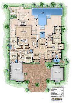 British West Indies Floor Plan