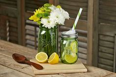 Green Ball canning jars!