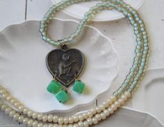 Chinese Year Of The Monkey Charm Necklace by OceanaireDreamer  with <3 from JDzigner www.jdzigner.com