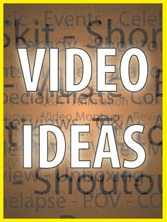fbb4f30cb34 19 Awesome Video ideas YOUTUBE images