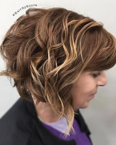 Curly Bob For Women Over 50
