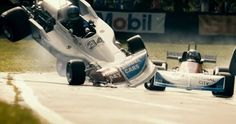 Between 1952 and 1994, 38 Formula One drivers were killed on the track in World Championship races.  A collision in Ron Howards biopic Rush Rush Trailer #3: Lies & Death on the Formula One Racetrack