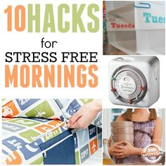 Morning Hacks For Busy Family