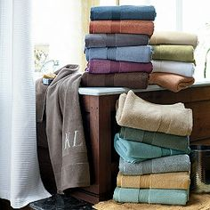 Legends® Egyptian Towels - stone or mink colors