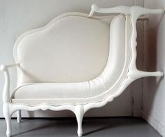 climbing sofa. in white. perfection.