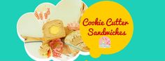 Have some fun in the kitchen when making school lunches with these adorable, creative and easy to make cookie cutter sandwiches. Your kids will love them! Easy To Make Cookies, School Lunches, Stay At Home, Have Some Fun, Cookie Cutters, Sandwiches, Lunch Ideas, Ethnic Recipes, Kids