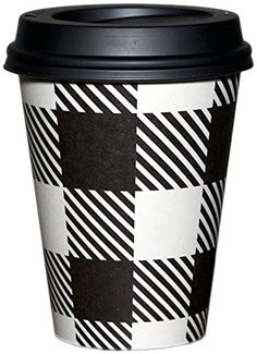 Barista Cup Co. CHECKERBOARD 100/pk Coffee Cups & Lids; S… Coffee Talk, My Coffee, Coffee Cups, Tea Cups, Coffee Business, Disposable Cups, Winter Drinks, Break Room, Coffee Humor