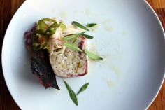 Bacon wrapped boudin blanc terrine at Foreign & Domestic in #Austin | chefsfeed.com #SXSW