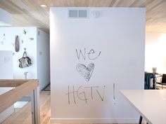 Dry erase wall paint!