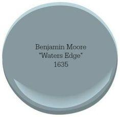 Benjamin Moore Waters Edge