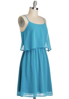 Sweeten the Teal Dress, #ModCloth