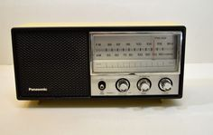 Vintage Panasonic Table Top Radio Model RE-6278 #Panasonic
