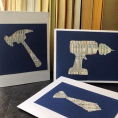 Crafty Lumberjacks: Cards for Dad!