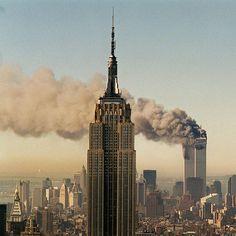 2001年9月11日の様子