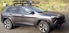 2014+ Jeep Cherokee Forums Jeep Trailhawk, Jeep Cherokee Trailhawk, Roof Rack Basket, Jeep Suv, Jeep Grand Cherokee, Vehicles, Trucks, Cars, Autos