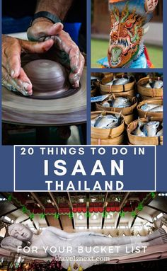 20 Things To Do In Isaan. Away from Thailand's vibrant metropolis of Bangkok, Isaan is a land of first-class Khmer ruins without the tourist crush and national parks without the squeeze. Thailand Shopping, Bangkok Thailand, Thailand Travel, Asia Travel, Thailand Nightlife, Thailand Tourism, Laos Travel, Croatia Travel, Beach Travel