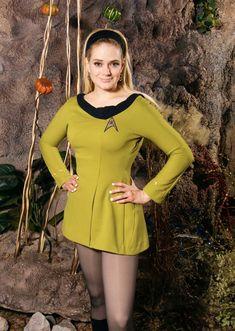 Kipleigh Brown as Yeoman Smith, Star Trek Continues. Cosplay Outfits, Cosplay Girls, Star Trek Continues, Star Trek Rpg, Star Trek Uniforms, Star Trek Cosplay, Star Trek Characters, Amy, Star Trek Original