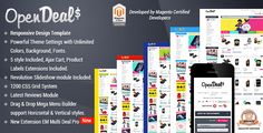 Responsive Magento Theme - Gala OpenDeal - http://themesparadise.com/responsive-magento-theme-gala-opendeal/