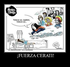 Una imagen vale más que mil palabras.. ¡ Fuerza Cerati ! Fictional Characters, Gustavo Cerati, Musica, Strength, Words, Fantasy Characters