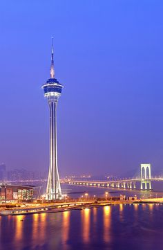 Macau tower, one day i am going to bungee jump on that :)