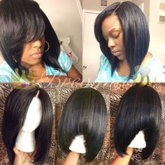 How-to make a custom wig with lace closure (bob)