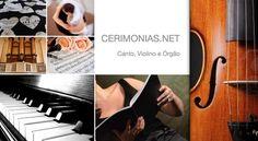 CERIMONIAS.NET - Canto Lírico, Violino e Órgão - MÚSICA DE QUALIDADE PARA A CERIMÓNIA - Braga. Vai casar Fazemos o acompanhamento musical da cerimónia religiosa com canto, violino e órgão. Na cerimónia religiosa acompanhamos com música todos os momentos da