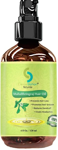 Mahabhringaraj Oil Pure Ayurvedic Remedy For Falling off Hair and Dandruff *** Want additional info? Click on the image.