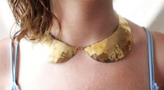 Brass Peter Pan Collar Uncovet...because everyday should be an adventure to Neverland