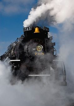 """""""Old 765""""  Manufactured by Lima Locomotive Works"""