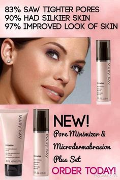 Just released from America's #1 skin care company, Mary Kay, a product that actually minimizes pores! http://www.marykay.com/krystalbell21