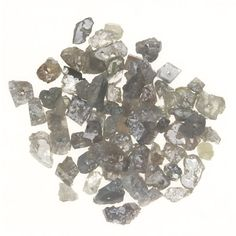 3.00 Ct Natural Rough Drilling Beads Fancy Loose Diamonds Lot Gray Mix Color | eBay