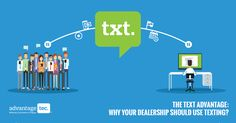 Here we will try to explain why and how your dealership could benefit from using a text messaging to communicate with customers.