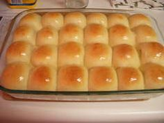 This is for you Crystal----Yeast rolls