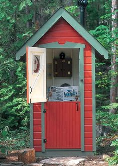 Outdoor Bathrooms 434034482838759804 - outhouse 6 Source by Outside Toilet, Outdoor Toilet, Building An Outhouse, Building A Shed, Lavabo Exterior, Outhouse Bathroom, Outdoor Bathrooms, Composting Toilet, Shed Plans