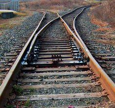 Train Tracks At Switch|Love's Photo Album