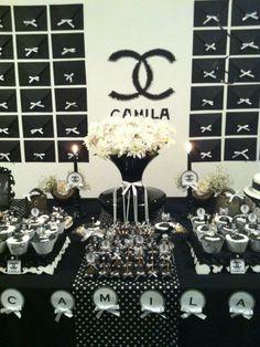 ChacomigoEventos: Festa Coco Chanel