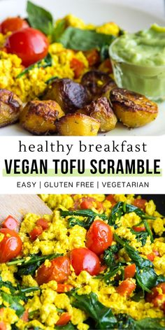 Vegetarian Recipes Easy, Healthy Breakfast Recipes, Brunch Recipes, Dinner Recipes, Healthy Eating, Vegetarian Breakfast, Healthy Recipes, Fun Recipes, Healthy Breakfasts