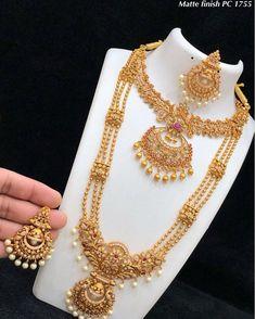 Gold Jewelry With Price Indian Wedding Jewelry, Indian Jewelry, Bridal Jewellery, Jewellery Sale, Jewelry Design Earrings, Gold Jewellery Design, Gold Temple Jewellery, Gold Jewelry, Beaded Jewelry