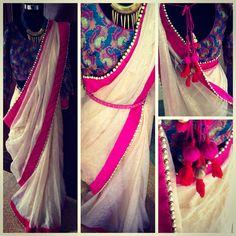 The 'GULABO' saree