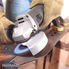 Learn to use an angle grinder to cut tile, mortar and pavers; make quick work of rust and loose paint removal;  sharpen blades and cut or grind steel.