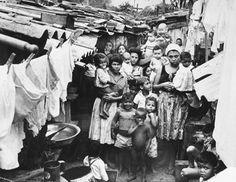 Favela do Jacarezinho - Zona Norte do Rio - 1961, acervo do Correio da Manhã