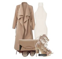 A fashion look from July 2015 featuring sleeveless turtleneck, camel coat and laced up shoes. Browse and shop related looks. Dope Outfits, Fashion Outfits, Women's Fashion, Sleeveless Turtleneck, Perfect Wardrobe, Dressed To Kill, Business Fashion, Polyvore Fashion, Party Dress