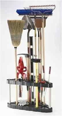 5 Position Mop And Broom Holder   Broom Organizer   With 2 Extra Single  Holders   Perfect For Cleaning And Garden Tools | Household Storage |  Pinterest ...