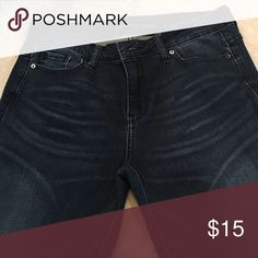 Jeans Dark wash skinny straight leg Calvin Klein Jeans Straight Leg