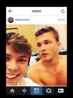 Ashton and Josh! Definitely have a thing for drummers!