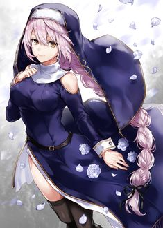 Character design nun
