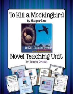 To Kill a Mockingbird Activities, Exams, Quizzes, Vocab - UNIT
