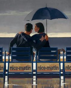 Jack Vettriano, OBE is a Scottish painter. His 1992 painting, The Singing Butler, became a best-selling image in Britain. For biographical notes -in english and italian- and other works by Vettriano see: Jack Vettriano, 1951 Jack Vettriano, Umbrella Art, Under My Umbrella, The Singing Butler, Curt Montgomery, Edward Hopper, Limited Edition Prints, Oeuvre D'art, Amazing Art