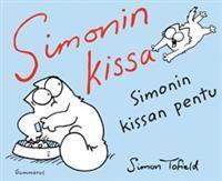 http://www.adlibris.com/fi/product.aspx?isbn=9512088738&lang=fi&gclid=CN-Tzc2u7rkCFUFP3godqX0A8A | Nimeke: Simonin kissa - Tekijä: Simon Tofield - ISBN: 9512088738 - Hinta: 15,20 € En omista yhtäkään Simonin kissa kirjaa