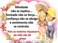 MENSAGENS DE CARINHO - Comunidade - Google+ Portuguese Phrases, Albert Einstein, Winnie The Pooh, Disney Characters, Fictional Characters, Friendship, 1, Sign, Google